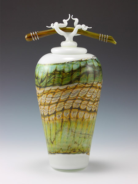 Opal Series art glass