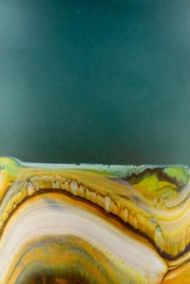 Sage Translucent Strata color detail