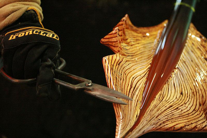 Glass sculpture Gartner Blade Arbor series